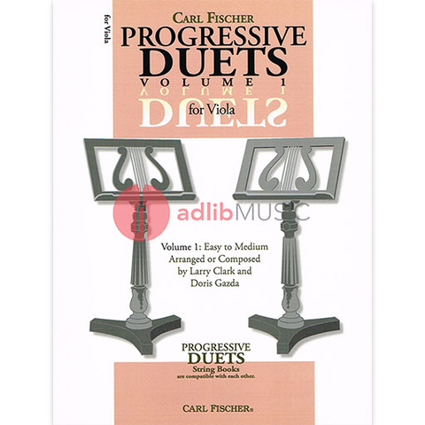 Progressive Duets Volume 1 for Viola - Various - Carl Fischer