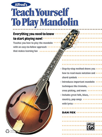 TEACH YOURSELF TO PLAY MANDOLIN BK/CD/DVD - FOX DAN - Alfred Music