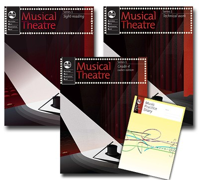 Musical Theatre Series 1 - Grade 4 Ladies Edition - Student Pack - Vocal AMEB - Adlib Music