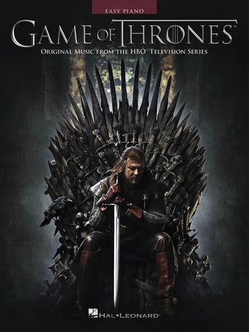 Game of Thrones - Selections - Easy Piano - Hal Leonard