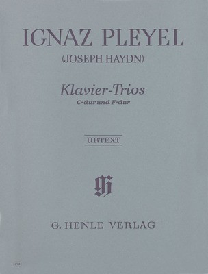 Piano Trios - Previously attributed to Joseph Haydn - for Violin, Cello and Piano - Ignaz Pleyel - G. Henle Verlag - Piano Trio