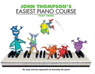 John Thompson's Easiest Piano Course - Part 3 - Book Only - Book Only - Piano John Thompson Willis Music - Adlib Music