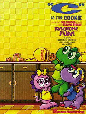 C Is For Cookie Xylotone Book Only - Hal Leonard