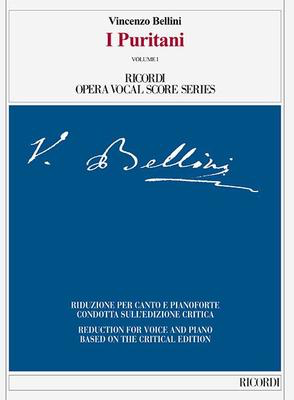 I Puritani - Vocal Score - Vincenzo Bellini - Classical Vocal Ricordi