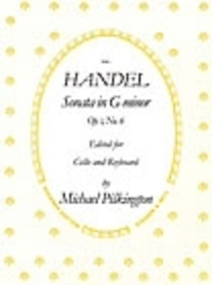 Sonata G Min Op 1 No 6 - George Frideric Handel - Cello Stainer & Bell