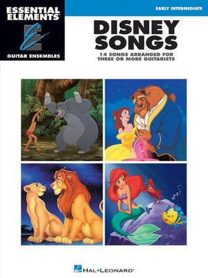 Disney Songs - Essential Elements Guitar Ensembles Early Intermediate Level - Various - Guitar Hal Leonard Guitar Ensemble