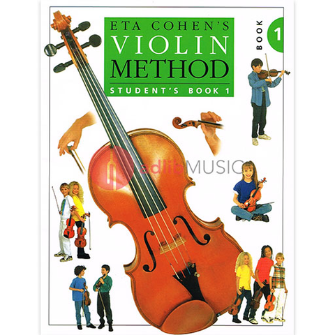 Violin Method Bk 1 - Eta Cohen - Students Book - Novello