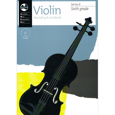AMEB Series 9 Grade 6 - Violin CD Recording & Handbook 1202728046
