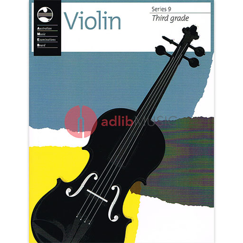 Violin Series 9 - Third Grade - Violin AMEB