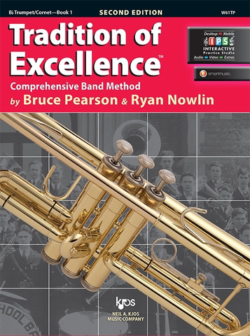 Tradition of Excellence Book 1 - Trumpet - Bruce Pearson|Ryan Nowlin Neil A. Kjos Music Company