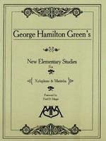 New Elementary Studies for Xylophone and Marimba - George Hamilton Green - Marimba|Xylophone Meredith Music
