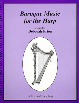 Baroque Music for the Harp - Harp Deborah Friou Hal Leonard - Adlib Music