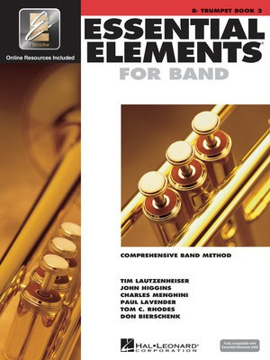 Essential Elements for Band - Book 2 with EEi - Bb Trumpet - Trumpet Charles Menghini|Donald Bierschenk|John Higgins|Paul Lavender|Tim Lautzenheiser|Tom C. Rhodes Hal Leonard /CD - Adlib Music