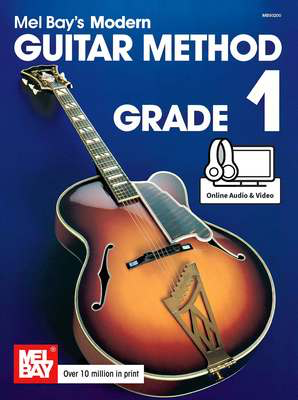 Modern Guitar Method Grade 1 - Guitar/Audio Access Online/Video by Bay Mel Bay MB93200M