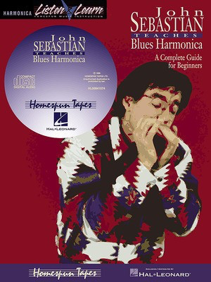 John Sebastian - Beginning Blues Harmonica - Harmonica Homespun /CD