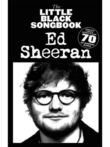 Little Black Songbook Ed Sheeran - Guitar Chord Songbook - Music Sales