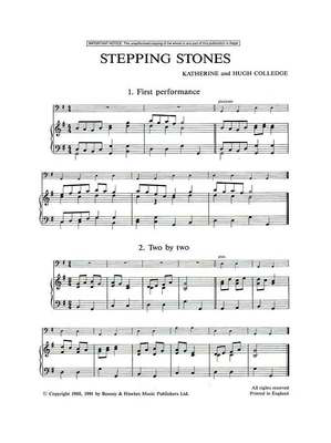 Stepping Stones - Cello Part - Hugh Colledge|Katherine Colledge - Cello Boosey & Hawkes