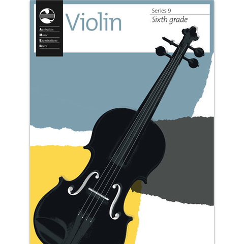 AMEB Series 9 Grade 6 - Violin/Piano 1202728639