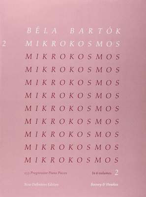 Mikrokosmos Vol. 2 - 153 Progressive Piano Pieces - Bela Bartok - Piano Boosey & Hawkes - Adlib Music