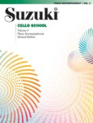 Suzuki Cello School Piano Acc., Volume 3 (Revised) - Cello Summy Birchard Piano Accompaniment - Adlib Music