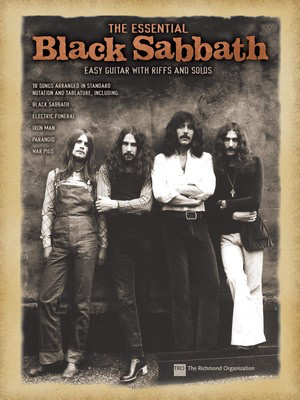 The Essential Black Sabbath - Easy Guitar with Riffs and Solos - Guitar Hal Leonard Easy Guitar