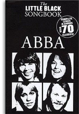 The Little Black Songbook: ABBA - Guitar|Vocal Wise Publications Lyrics & Chords - Adlib Music