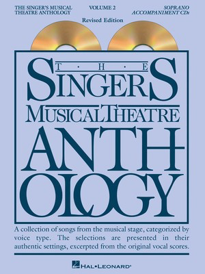 The Singer's Musical Theatre Anthology - Volume 2 - Soprano Accompaniment CDs ONLY - Various - Vocal Soprano Hal Leonard CD