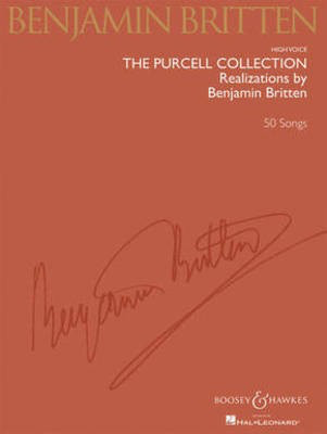 The Purcell Collection - Realizations by Benjamin Britten - 45 Songs Medium/Low Voice - Henry Purcell - Classical Vocal Medium/Low Voice Benjamin Britten Boosey & Hawkes