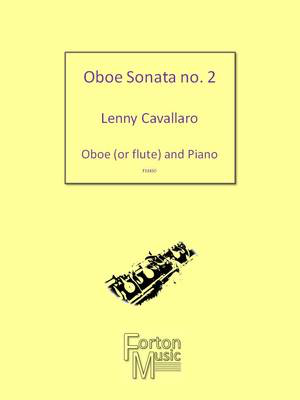 2nd Oboe Sonata - Oboe and Piano - Lenny Cavallaro - Oboe Forton Music