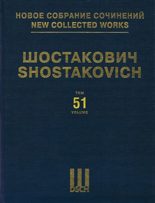The Nose Op. 15 - New Collected Works of Dmitri Shostakovich - Volume 51 - Dmitri Shostakovich - DSCH Hardcover