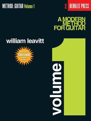 A Modern Method for Guitar - Volume 1 - Guitar Technique - Guitar William Leavitt Berklee Press