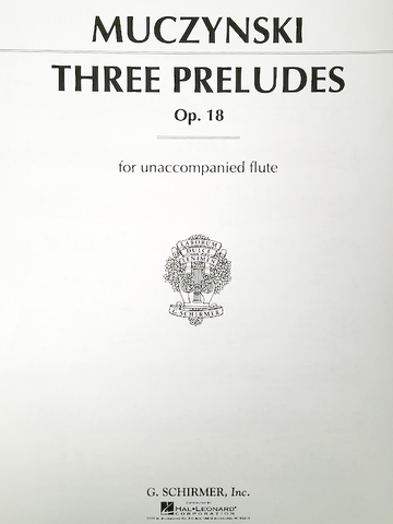 Flute Recorder Solo Works