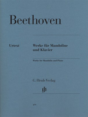 Works for Mandolin and Piano - Ludwig van Beethoven - Mandolin G. Henle Verlag