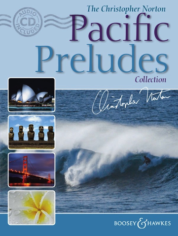 Pacific Preludes Collection - Christopher Norton - Book/CD - Boosey & Hawkes.