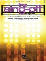 The Sing-Off Songbook - 18 Songs from NBC's Hit TV A Cappella Singing Competition - Guitar|Piano|Vocal Hal Leonard