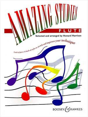 Amazing Studies for Flute - Various - Flute Boosey & Hawkes Flute Solo - Adlib Music