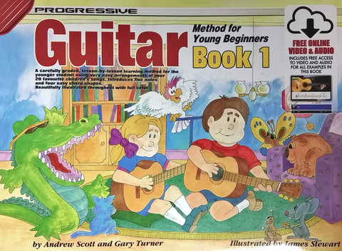 Progressive Guitar Method for Young Beginners Book 1 - Guitar/Audio Access Online by Turner Koala KPYG1X