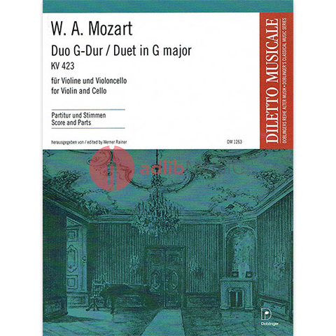 Violin & Viola Sheet Music | Adlib Music - Composer_Mozart
