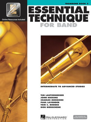Essential Technique For Band Bk3 Trombone Eei - Trombone - Trombone Various Hal Leonard /CD - Adlib Music