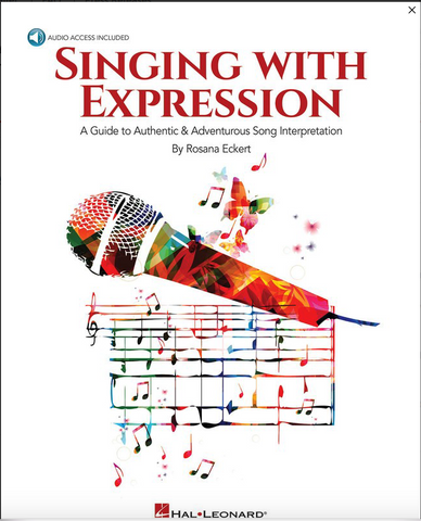 Singing with Expression - Vocal with Online Audio - Rosana Eckert - Hal leonard