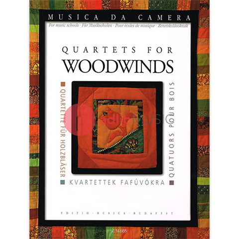 Quartets for Woodwinds (Musica da Camera Series) - Mixed Quartets EMB Z14685