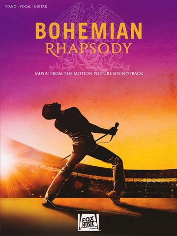 Bohemian Rhapsody Music From The Motion Picture Sountrack - Piano/Vocal/Guitar PVG Hal Leonard 286617