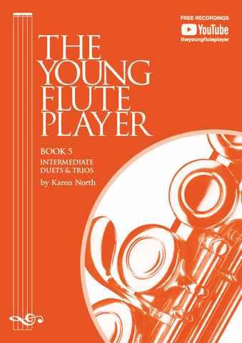 The Young Flute Player Book 5 - Intermediate Duets & Trios - Karen North - Flute Allegro