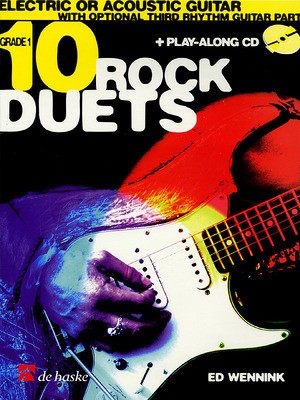 10 Rock Duets - Ed Wennink - Guitar De Haske Publications /CD