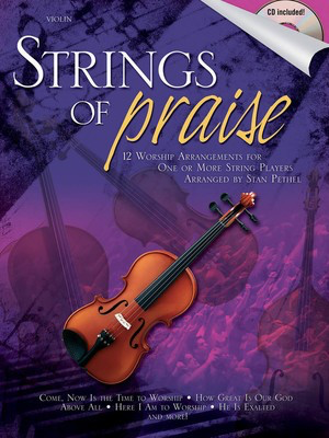 Strings of Praise - Violin Stan Pethel Shawnee Press /CD