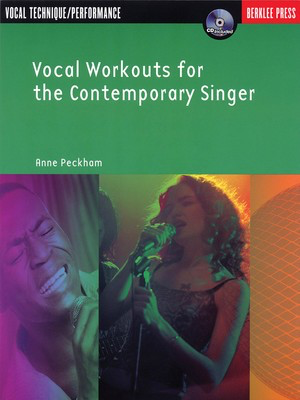Vocal Workouts for the Contemporary Singer - Classical Vocal|Vocal Anne Peckham Berklee Press /CD - Adlib Music
