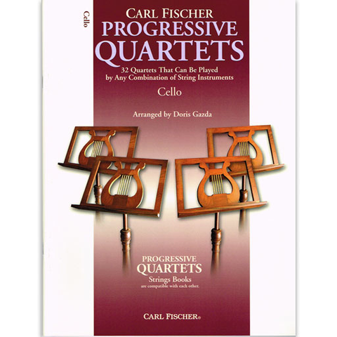 Progressive Quartets - Cello Quartet by Gazda Fischer BF71