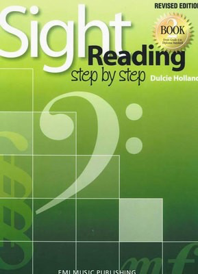 Sight Reading Step By Step Book 2 - From Grade 4 to Diploma Standard - Dulcie Holland - Piano EMI Music Publishing - Adlib Music