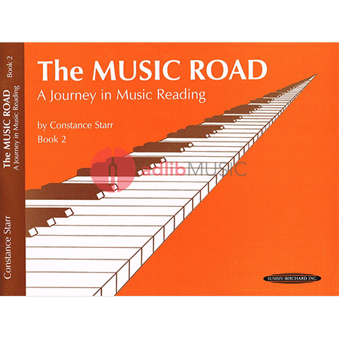 Music Road: A Journey in Music Reading Book 2 - Starr Constance - Summy Birchard