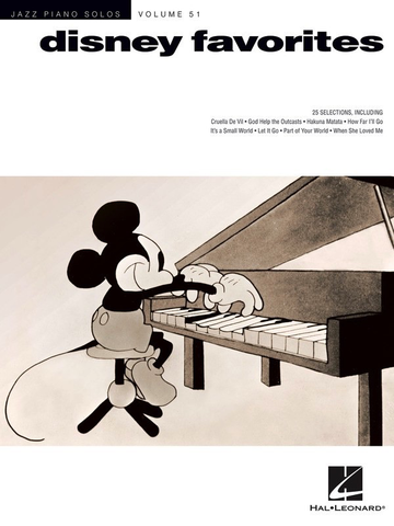Jazz Piano Solos - Disney Favorites - Piano - Hal Leonard